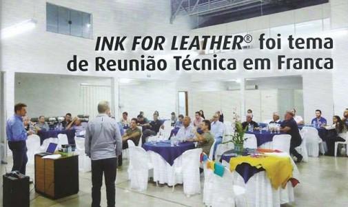 INK FOR LEATHER per il distretto conciario di Franca